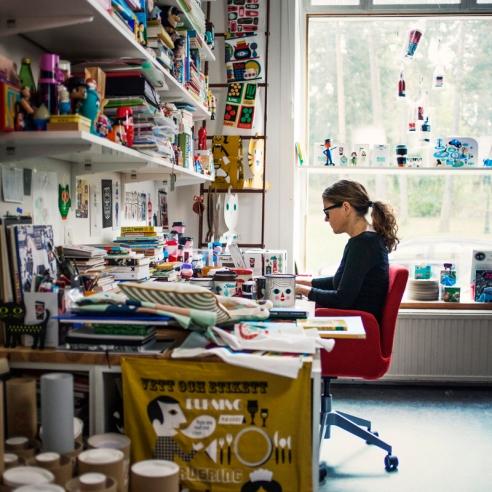 Ingela P Arrhenius; Porträtt; 2015; Illustratör;